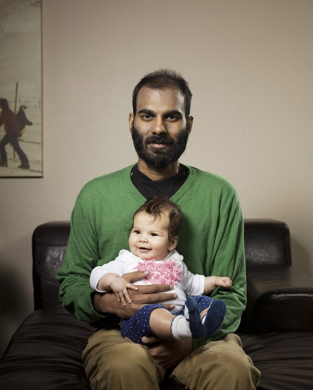 Photo of Paul Kalanithi and his daughter Cady