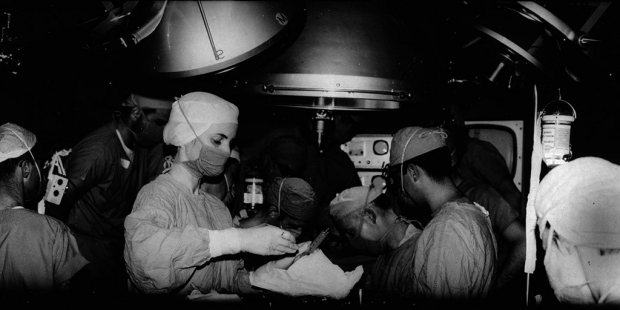 First U.S. adult heart transplant at Stanford on Jan. 6, 1968.
