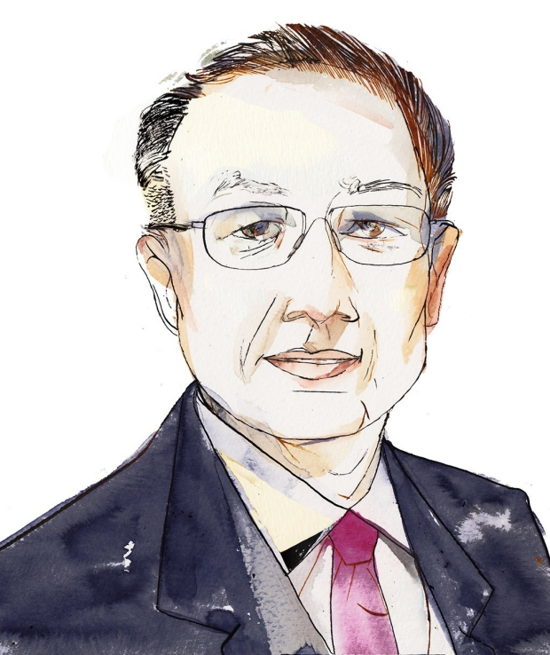 Jim Yong Kim, MD, PhD. (Illustration by Riccardo Vecchio)