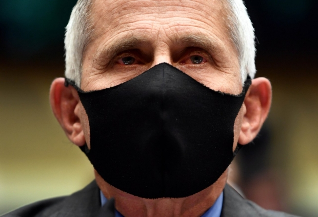Anthony Fauci, MD, photo from Getty