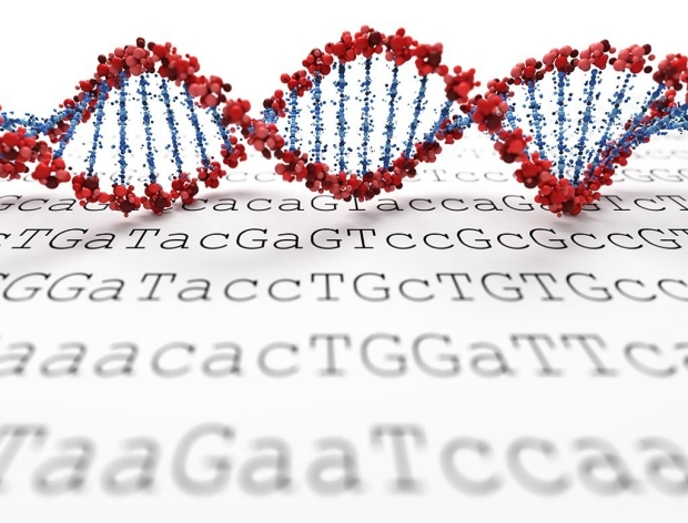 Adobe Stock image of genetic coding by Leigh Prather