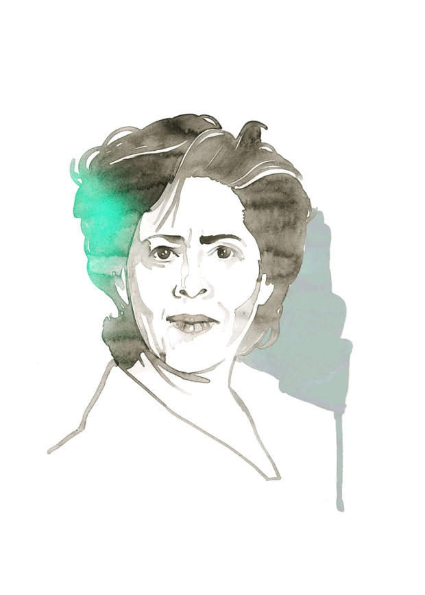 Illustration of Anna Deavere Smith
