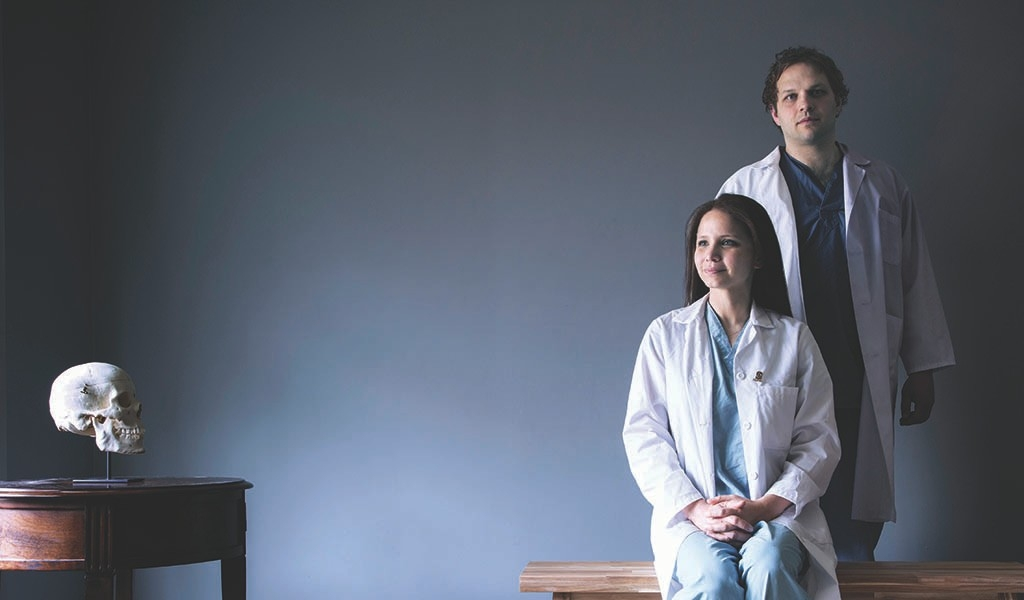 Trading scrubs for lab coats to find brain cancer answers | Stanford